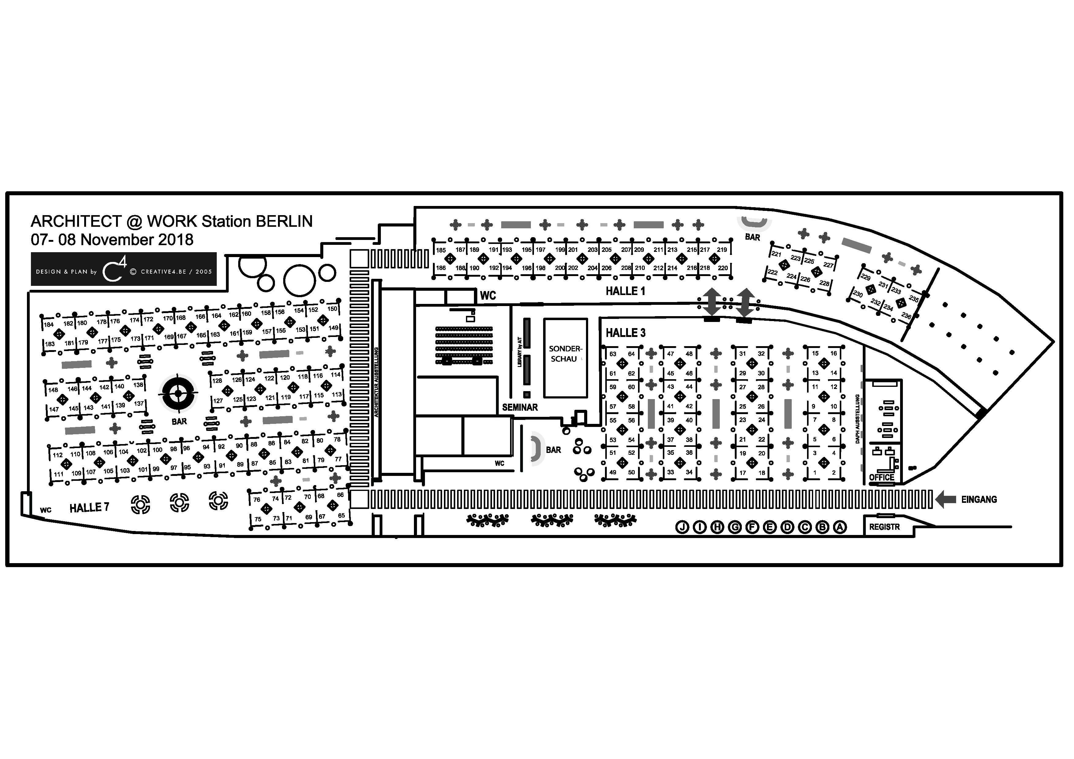 Floor plan Berlin 2018